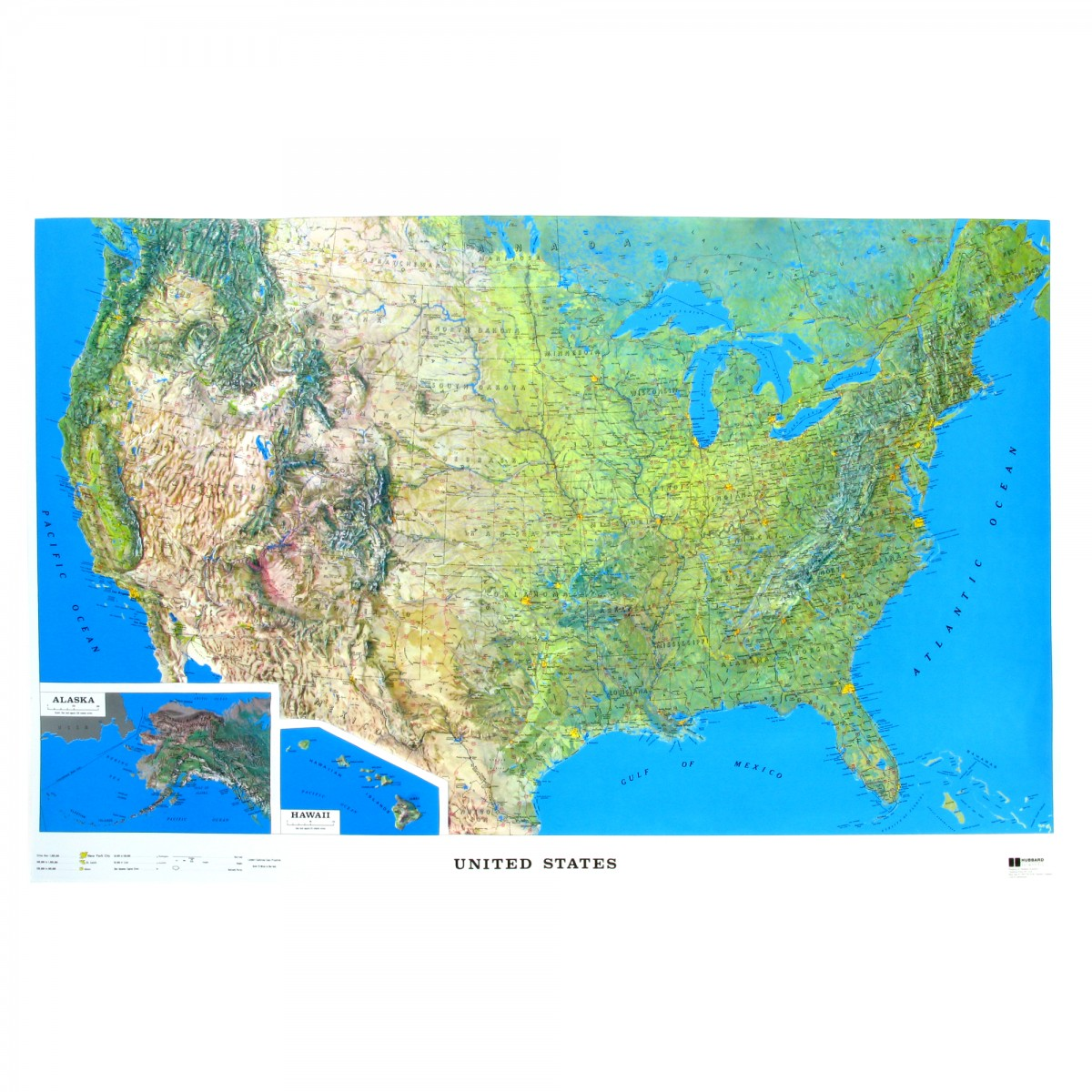 Raised Relief Map Of The US X What If Scientific Leave - Relief map us