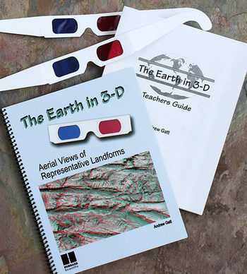 the earth in 3-D book