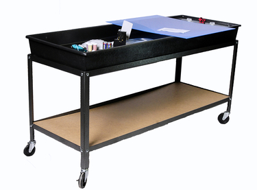 stream table with cart