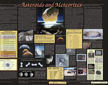 asteroids and meteorites poster image