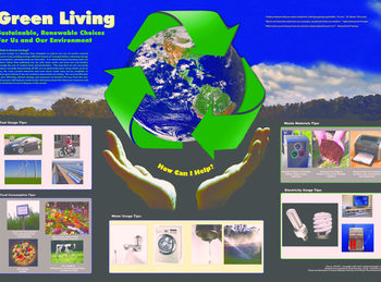 green living poster image