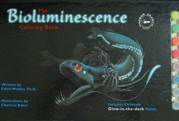 Bioluminescence paint book cover image