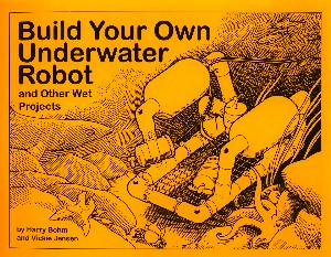 build underwater robot book cover image