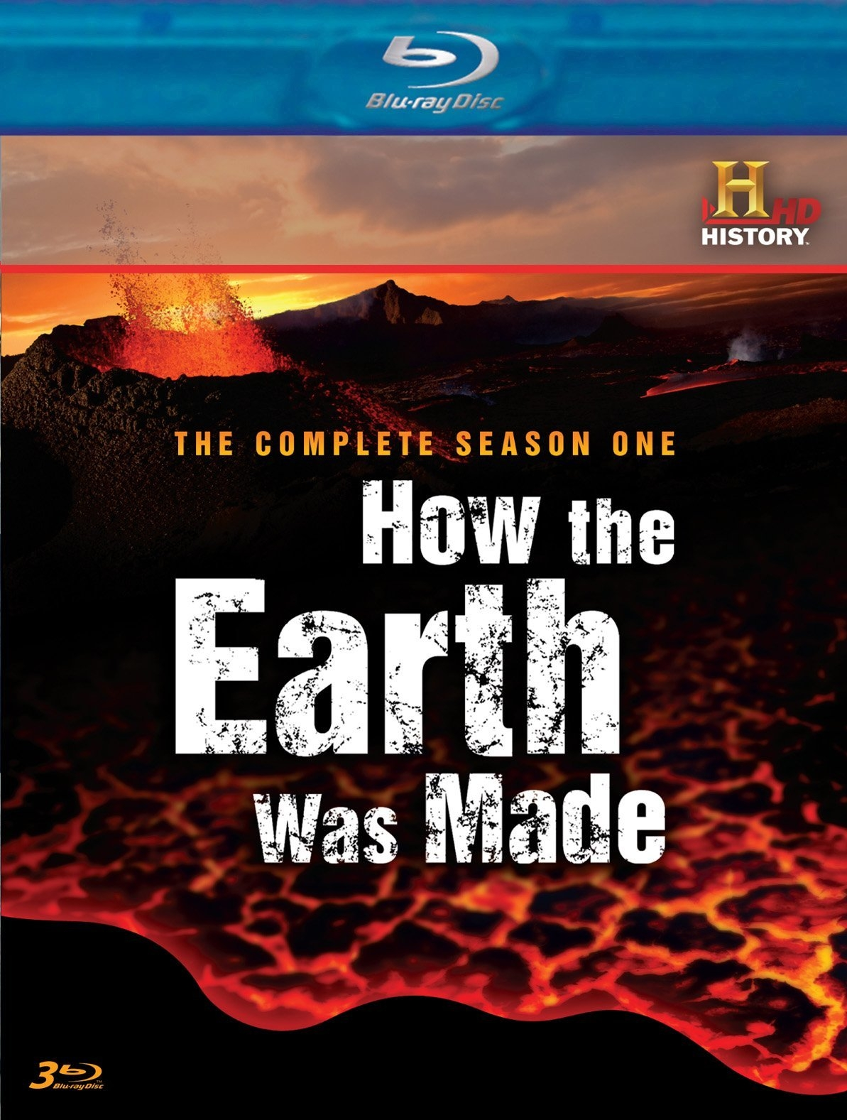 """How The Earth Was Made"" DVD, Complete Season 1"